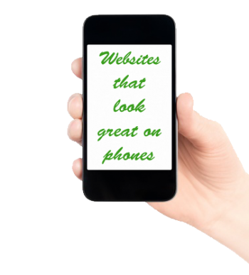 website design mobile phone